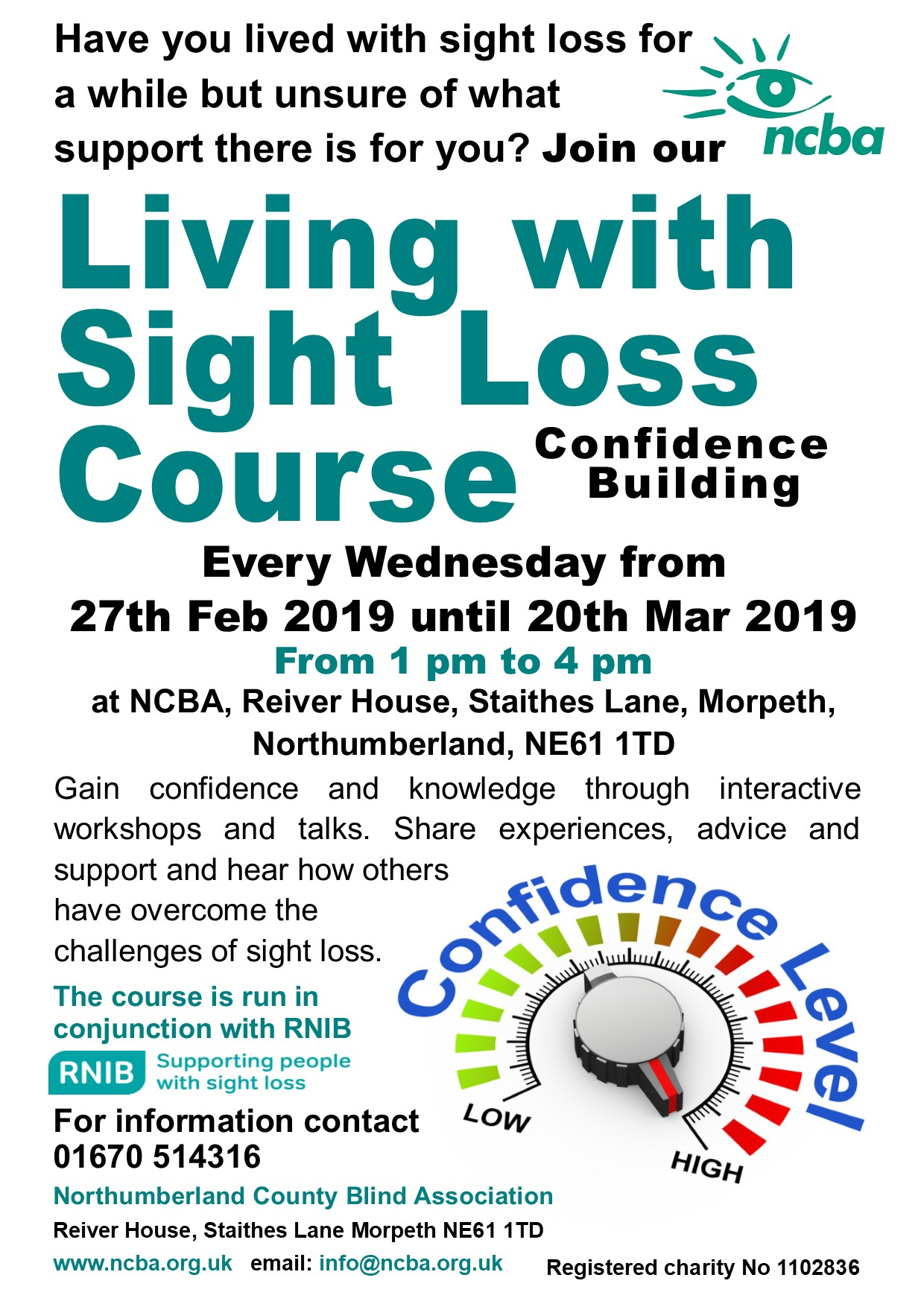 New Living with Sight Loss Course