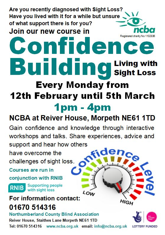 Confidence Building Courses - Coming Soon!