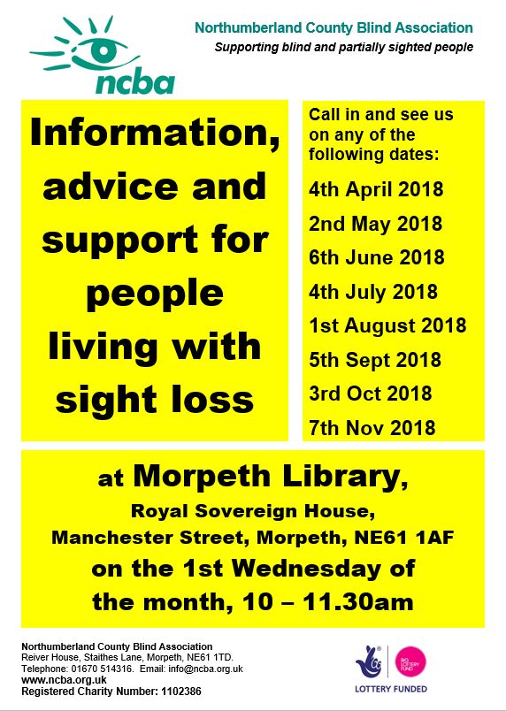 Morpeth Library Drop-in Sessions